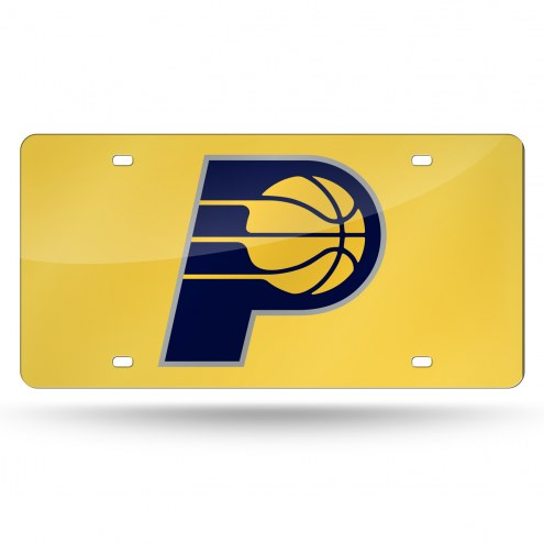 Indiana Pacers Laser Cut License Plate