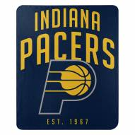 Indiana Pacers Layup Fleece Blanket