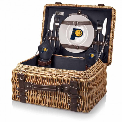 Indiana Pacers Navy Champion Picnic Basket