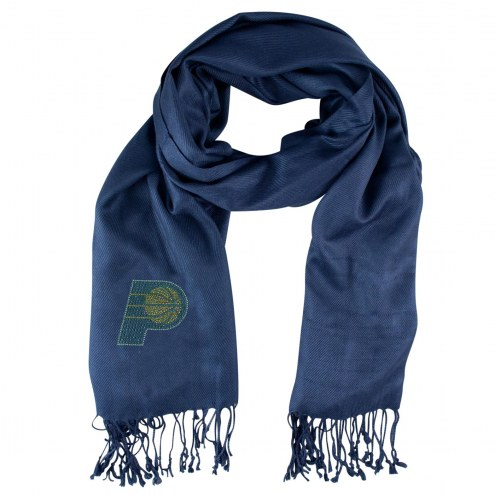 Indiana Pacers Navy Pashi Fan Scarf