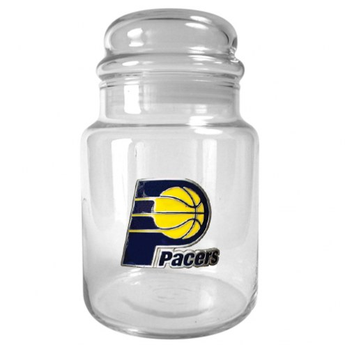 Indiana Pacers NBA 31 Oz Glass Candy Jar