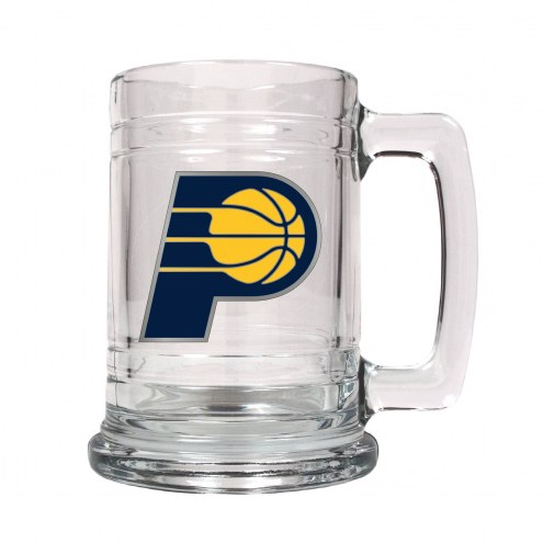 Indiana Pacers NBA 2-Piece Glass Tankard Beer Mug Set