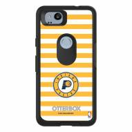 Indiana Pacers OtterBox Google Pixel 2 Symmetry Stripes Case