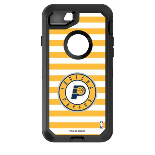 Indiana Pacers OtterBox iPhone 8/7 Defender Stripes Case
