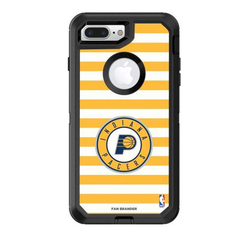Indiana Pacers OtterBox iPhone 8 Plus/7 Plus Defender Stripes Case