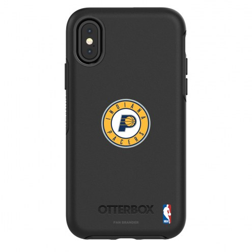 Indiana Pacers OtterBox iPhone X/Xs Symmetry Black Case
