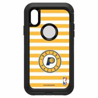 Indiana Pacers OtterBox iPhone XR Defender Stripes Case