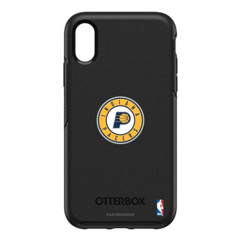Indiana Pacers OtterBox iPhone XR Symmetry Black Case