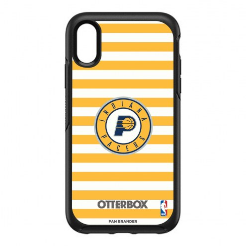 Indiana Pacers OtterBox iPhone XR Symmetry Stripes Case