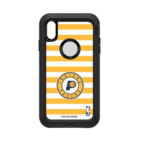 Indiana Pacers OtterBox iPhone XS Max Defender Stripes Case