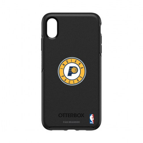 Indiana Pacers OtterBox iPhone XS Max Symmetry Black Case