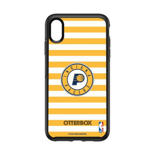 Indiana Pacers OtterBox iPhone XS Max Symmetry Stripes Case