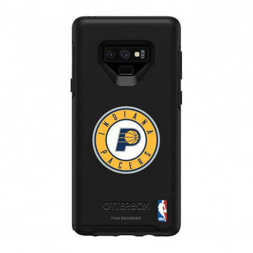Indiana Pacers OtterBox Samsung Galaxy Note9 Symmetry Black Case