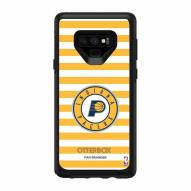 Indiana Pacers OtterBox Samsung Galaxy Note9 Symmetry Stripes Case