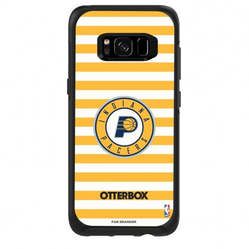 Indiana Pacers OtterBox Samsung Galaxy S8 Symmetry Stripes Case