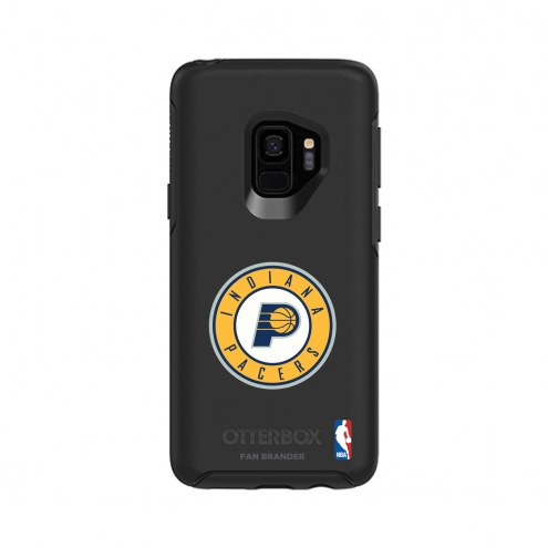 Indiana Pacers OtterBox Samsung Galaxy S9 Symmetry Black Case