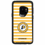 Indiana Pacers OtterBox Samsung Galaxy S9 Symmetry Stripes Case