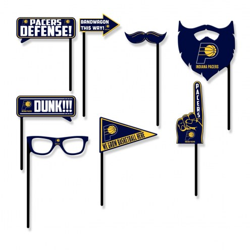 Indiana Pacers Party Props Selfie Kit