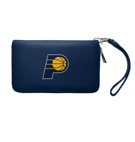 Indiana Pacers Pebble Organizer Wallet