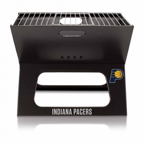 Indiana Pacers Portable Charcoal X-Grill