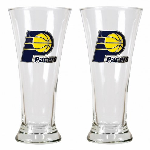 Indiana Pacers Premiere Pilsner Glass Set
