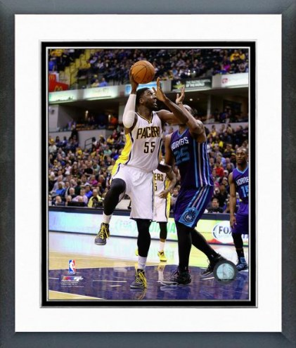 Indiana Pacers Roy Hibbert Action Framed Photo