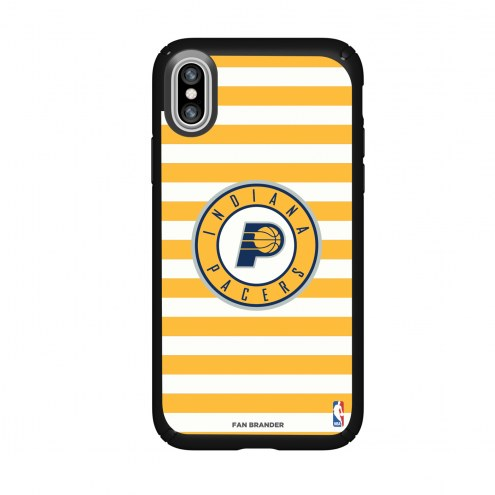 Indiana Pacers Speck iPhone XS Max Presidio Pro Stripes Case