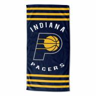 Indiana Pacers Stripes Beach Towel