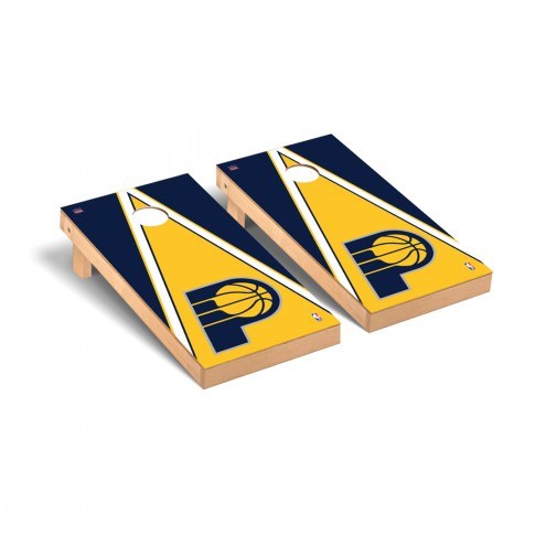 Indiana Pacers Triangle Cornhole Game Set