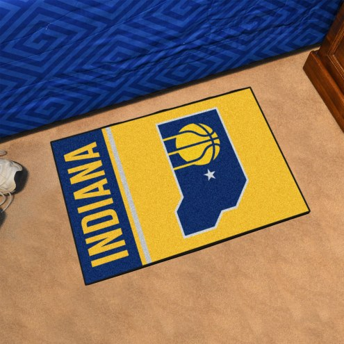 Indiana Pacers Uniform Inspired Starter Rug
