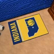 Indiana Pacers Uniform Inspired Starter Rug