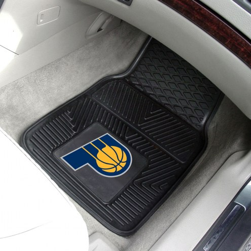 Indiana Pacers Vinyl 2-Piece Car Floor Mats