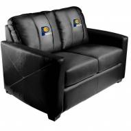Indiana Pacers XZipit Silver Loveseat