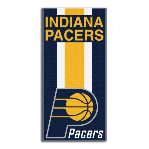 Indiana Pacers Zone Read Beach Towel