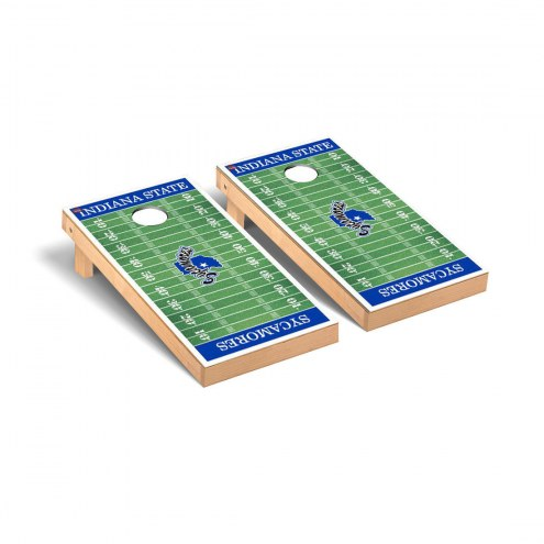Indiana State Sycamores Football Field Cornhole Game Set