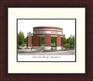 Indiana State Sycamores Legacy Alumnus Framed Lithograph