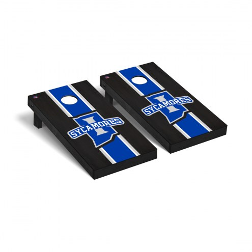 Indiana State Sycamores Onyx Stained Cornhole Game Set