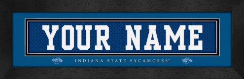 Indiana State Sycamores Personalized Stitched Jersey Print