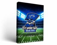 Indiana State Sycamores Stadium Canvas Wall Art