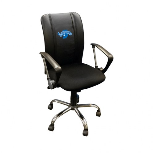 Indiana State Sycamores XZipit Curve Desk Chair with Secondary Logo