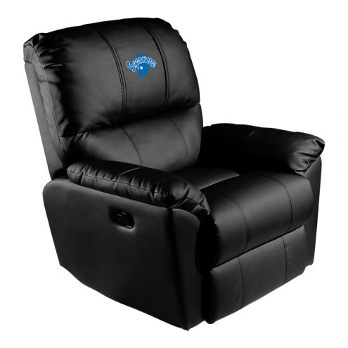 Indiana State Sycamores XZipit Rocker Recliner with Secondary Logo