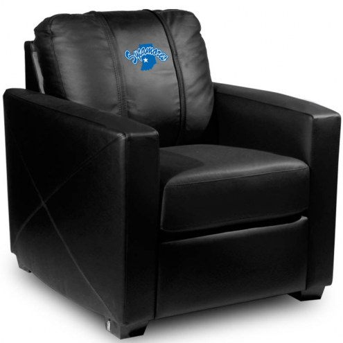 Indiana State Sycamores XZipit Silver Club Chair with Secondary Logo