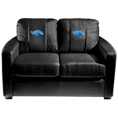Indiana State Sycamores XZipit Silver Loveseat