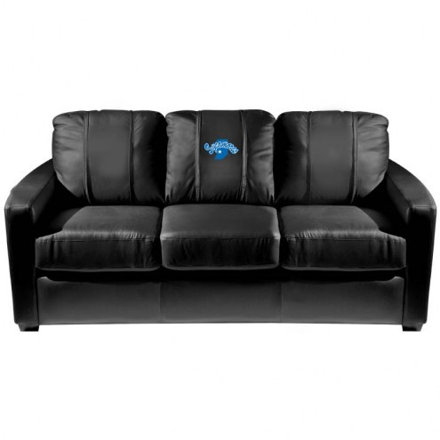 Indiana State Sycamores XZipit Silver Sofa with Secondary Logo
