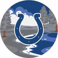 "Indianapolis Colts 12"" Landscape Circle Sign"