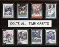 """Indianapolis Colts 12"""" x 15"""" All-Time Greats Plaque"""