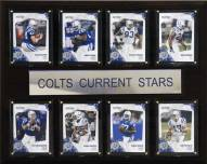 "Indianapolis Colts 12"" x 15"" Current Stars Plaque"