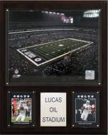 "Indianapolis Colts 12"" x 15"" Stadium Plaque"