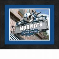 Indianapolis Colts 13 x 16 Personalized Framed Sports Pub Print