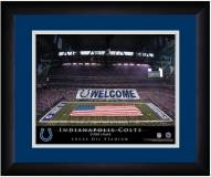 Indianapolis Colts 13 x 16 Personalized Framed Stadium Print
